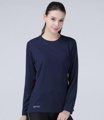 AWDis Long Sleeves Ladies TShirt Girl Fit Top Tee Women T-Shirt JC012